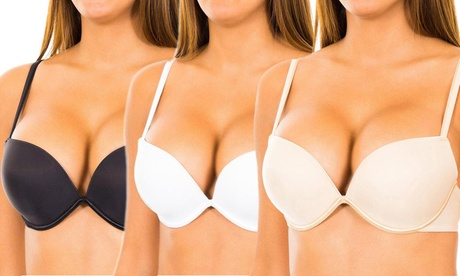 1 o 2 sujetadores push-up Wonderbra Oferta en Groupon