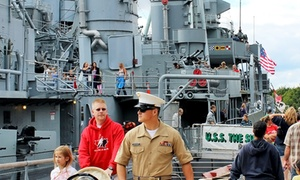 Buffalo and Erie County Naval & Military Park: Admission or Membership to Buffalo and Erie County Naval & Military Park (Up to 48% Off).