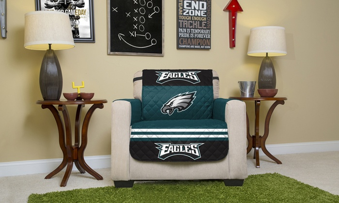 NFL NFC Licensed Furniture Protector for Chair, Sofa, Love Seat, and Recliner: NFL NFC Licensed Furniture Protector for Chair, Sofa, Love Seat, and Recliner