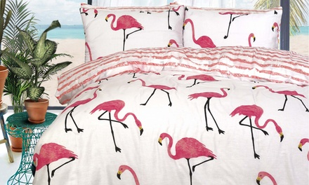 Pieridae Summer Prints Easy Care Reversible Duvet Set