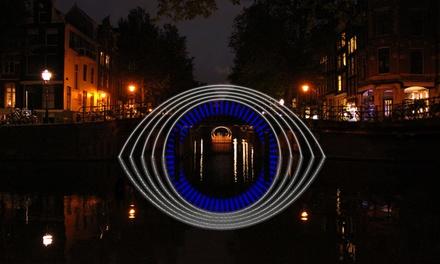 Amsterdam Light Festival: rondvaart inclusief drankjes en een hapje via Amsterdam Boat Experience