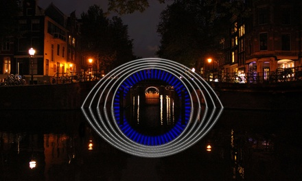 Amsterdam Light Festival privécruise incl. onbeperkt drankjes en een plakje kerststol bij Amsterdam Boat Experience