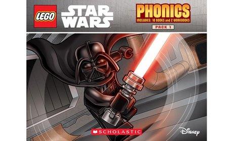 Lego Star Wars Phonics Boxed Book Set (12-Piece)