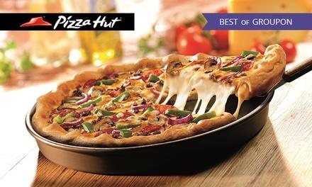 3-Gänge-Menü Pan Pizza, Cheezy Crust oder Golden Cheezy Crust im Pizza Hut Restaurant nach Wahl (bis zu 22% sparen*)