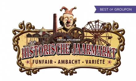 Entreeticket voor de Historische Jaarmarkt, met attracties, workshops en meer in Apeldoorn