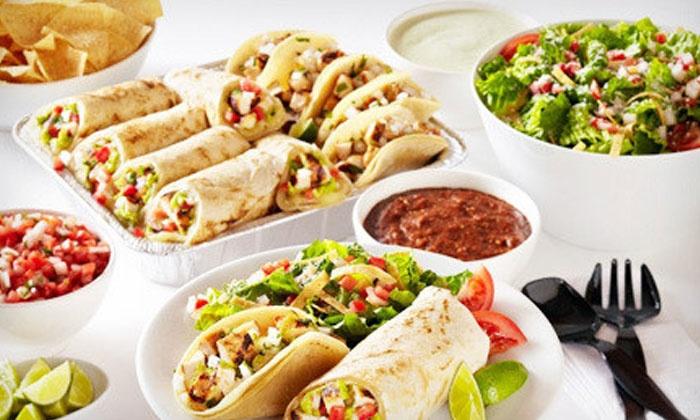 Baja Fresh - Pleasanton: Mexican Meal for Two or Four at Baja Fresh (Up to 42% Off)