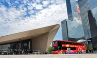 24-uursticket voor de Hop On Hop Off-bus Rotterdam, naar keuze incl. Euromast-bezoek enof Spido-rondvaart