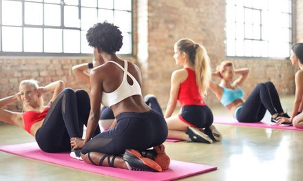 One Month of Unlimited Fitness Classes or Five Drop In Class Passes at I Knead Your Body (Up to 60% Off)