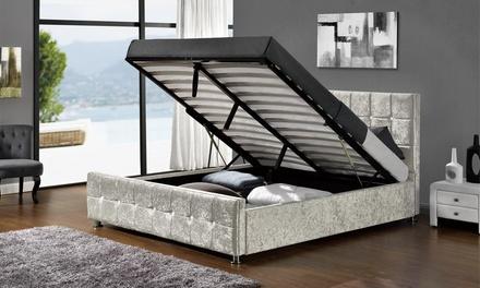 sansa ottoman bed