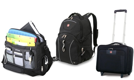 Wenger Swiss Backpack (£24.95), Messenger (£24.95) and Rolling Offices (from £49.99) with Free Delivery (Up to 62% Off)