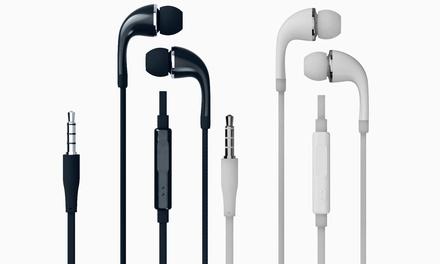 Auriculares con micrófono y conector
