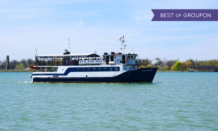 Sightseeing Cruise of the Upper Detroit River for Two or Four from Windsor River Cruises (Up to 43% Off)