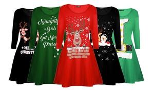 (Mode) Robes de Noël manches longues
