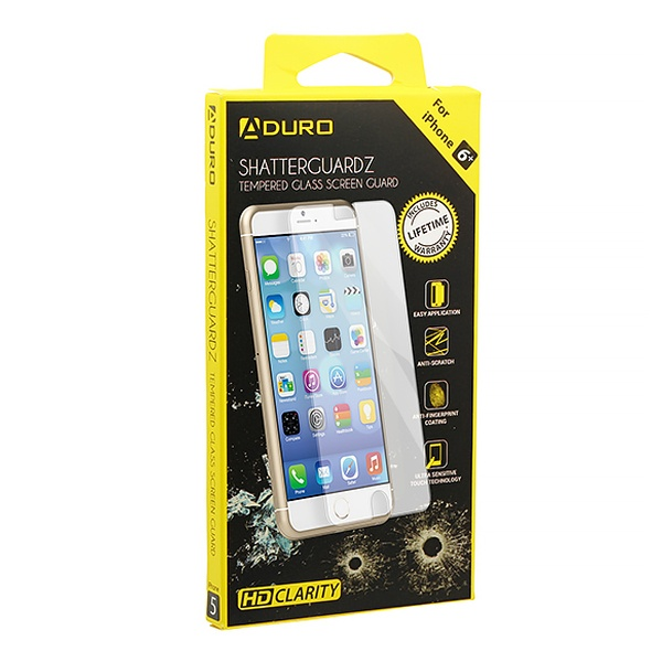 buy popular 6688a e5f20 ShatterGuardz Tempered Glass Screen Protector for iPhone and Samsung Galaxy  SmartPhones