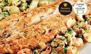 Farol di Mare: Restaurante Il Faro – Guarujá: almoço ou jantar com prato principal para 1 ou 2 pessoas