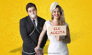 """ORBE SONI PRODUCOES: """"Manda Quem Pode, Obedece quem é Marido"""" – Teatro Nossa Senhora das Dores: ingresso individual"""