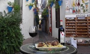 Taberna el Abanico: Menú para 2 o 4 con entrante, principal, postre, bebida y opción a plato de jamón desde 19,95 € en Taberna El Abanico