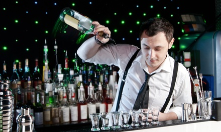 $99 for a Two-Day Intro to Bartending Certificate PE and a Flair Course at 1-800-BARTEND ($345 Value)
