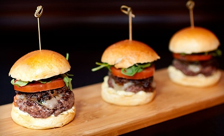 Burger Lunch or Brunch for Two or Four at Slide (Up to 57% Off)