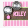 50% Off a Personalized Pet Food Mat