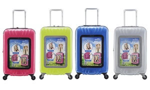 """Selfie Club 20"""" Selfie Personalized Carry-On Luggage"""