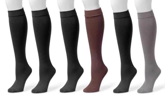 b2f8c922f10 Up To 28% Off on Muk Luks Knee-High Socks (2-Pk.)