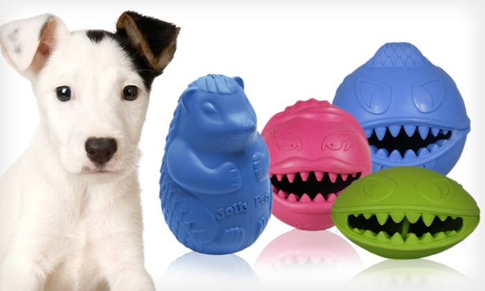 Hedgehog and Monster Ball Pet Toys: Hedgehog and Monster Ball Pet Toys (Up to Half Off). Multiple Toys and Sizes Available.