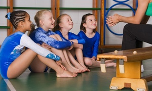 East Cooper Gymnastics: One Month of Gymnastics Classes for One, Two, or Three Children at East Cooper Gymnastics (Up to 54% Off)
