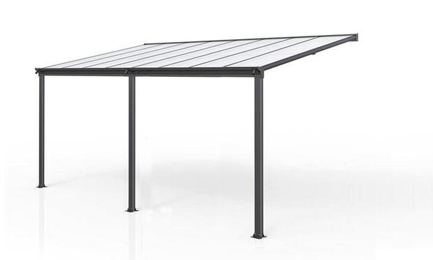 Aluminium Patio Canopy Groupon Goods