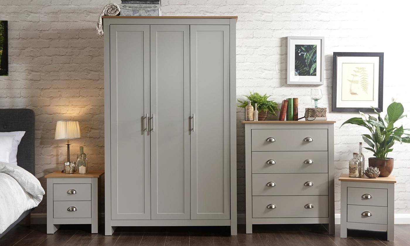 Ledbury Bedroom Furniture Range in Choice of Colour (£349.99)