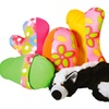 Squeezable Plush Puppy Toys (5-Pack)