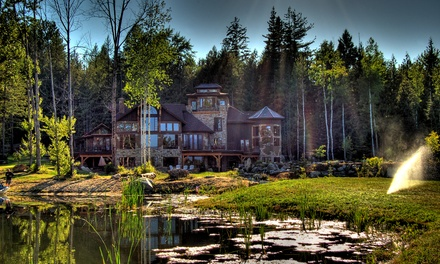 2 Nights for Two in Rio or Kipling Room or Grand Arbor Suite at Talus Rock Retreat in Sandpoint, ID. Check in Sun.–Wed.