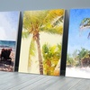 """20"""" x 16"""" Tropical Beach Prints on Gallery-Wrapped Canvas"""