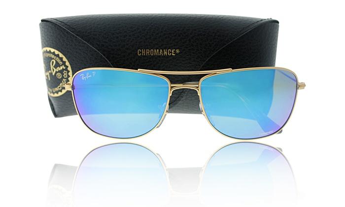 948660dadc5c1 ... cheapest ray ban polarized blue mirror chromance aviator sunglasses ray  ban polarized aviator with gold frame