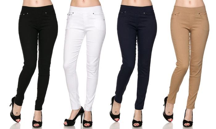 Women's 5-Pocket Skinny Pants (3-Pack)