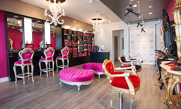 HSI Professional HAIRBAR - The Falls Miami: HSI Hair Mask, Blow-Dry, and Leave-In Treatment or Iron Finish at HSI Professional HAIRBAR (Up to 60% Off)