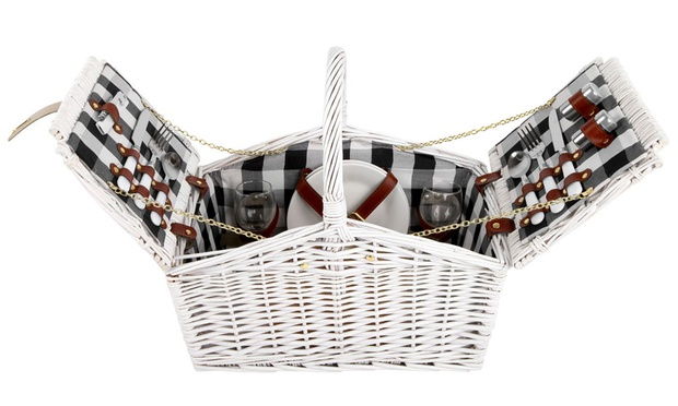 Picnic Basket and Accessory Sets | Groupon