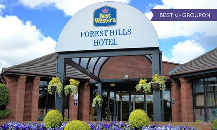 Cheshire: 1 Night for 2 with Breakfast, Spa and Optional Dinner and Valentines Dinner at Best Western Forest Hill Hotel