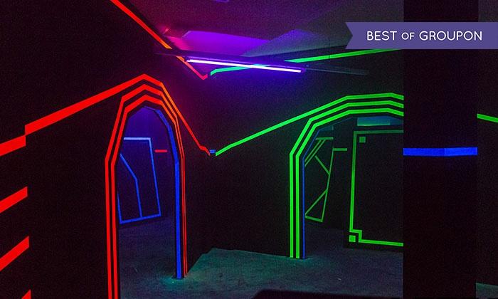 LaserTag Deutschland - Mehrere Standorte: 3x 15 Min. Laser-Tag-Spiel inkl. Getränk und Einweisung für bis zu 4 Personen bei LaserTag Deutschland (31% sparen*)