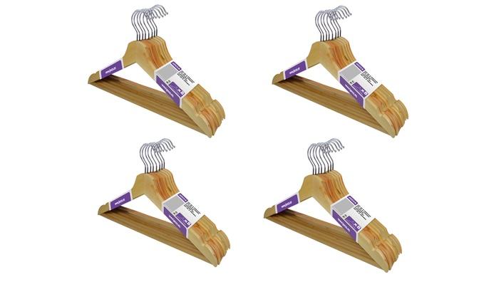 Set di grucce in legno