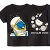Toddlers' Glow-In-The-Dark Space Tee