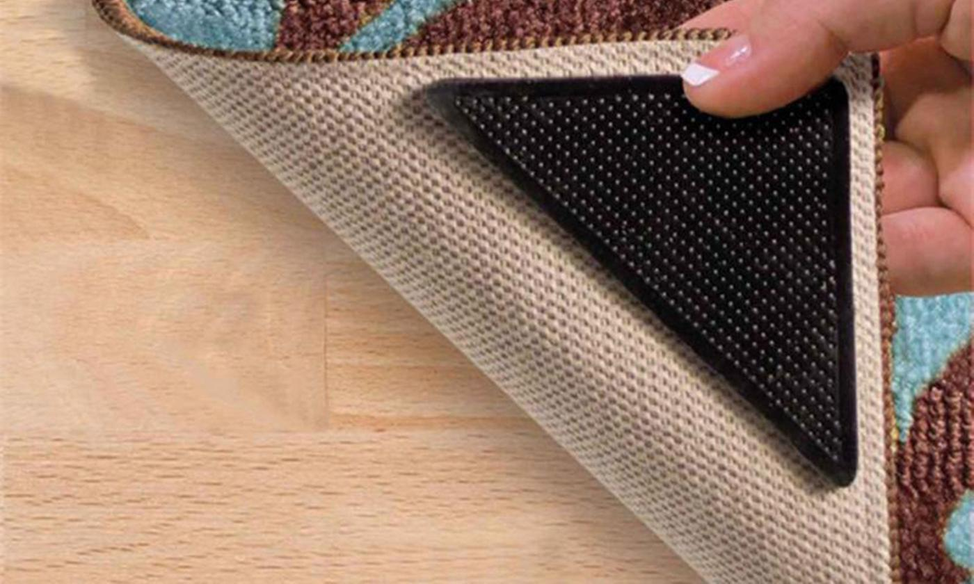 Up to 12 Anti-Slip Pads for Carpets or Rugs