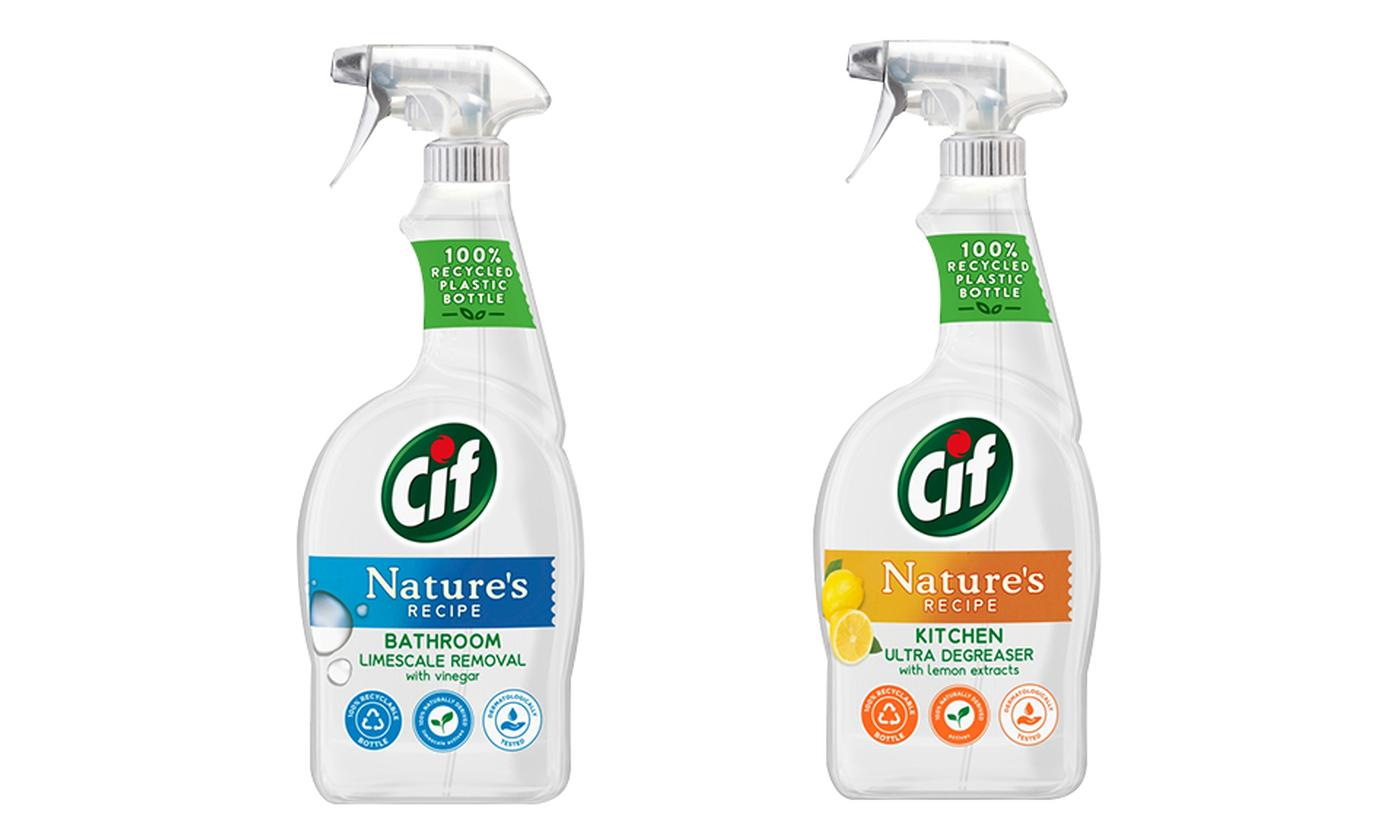 Two or Four CIF Nature's Recipe Bathroom and Kitchen Sprays