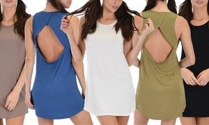 Lyss Loo Open-Back Sleep Shirt (Plus Sizes Available)
