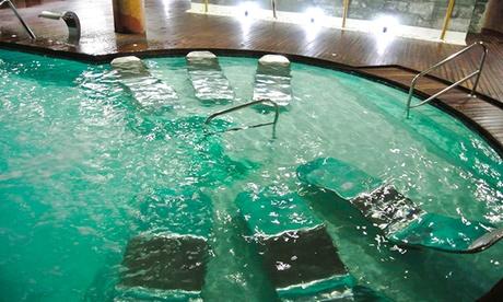 Circuito termal de 90 minutos para 2 con opción a masaje o circuito completo desde 14,95 € en Aquafisio Arroyomolinos