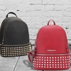 MMK Collection Vegan Leather Studded Backpack