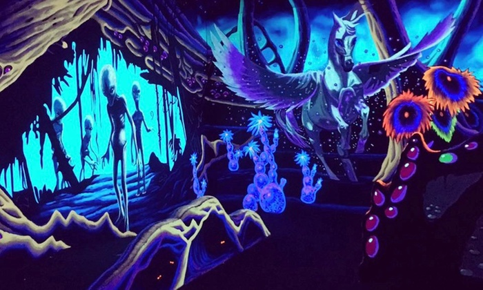 Partees 3d Blacklight Mini Golf Up To 33 Off