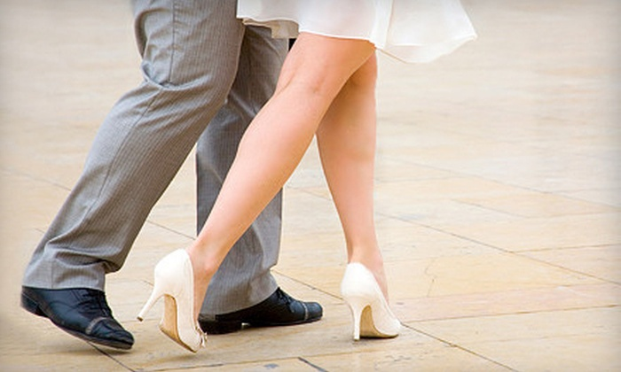 Fred Astaire Dance Studio - Multiple Locations: One or Two Private Dance Lessons for a Couple with Optional Practice Party at Fred Astaire Dance Studio (Up to 81% Off)