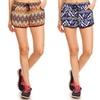 Women's Printed Drawstring Shorts (4-Pack)