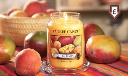 Yankee Candle Large Jars from £14.99